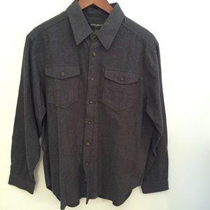 Eddie Bauer cotton flannel shirt
